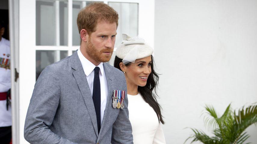 Prinz Harry und Herzogin Meghan auf den Fidschi-Inseln