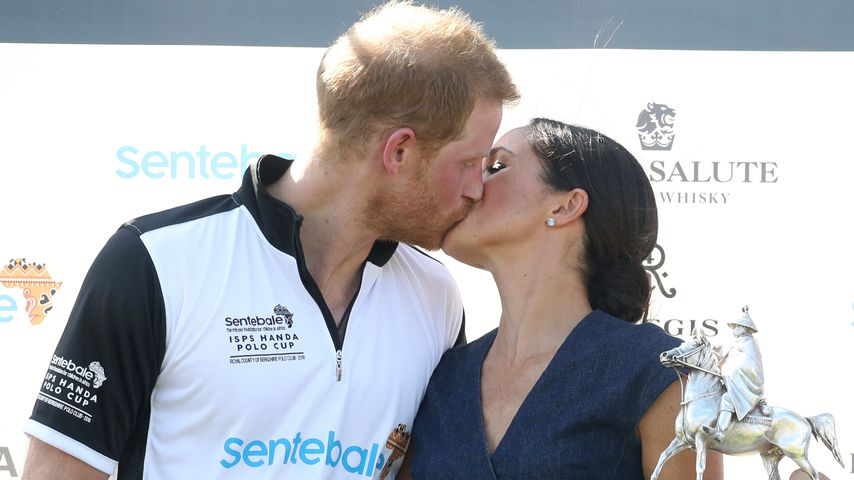 Prinz Harry und Herzogin Meghan beim Sentebale-Polo-Turnier in Windsor