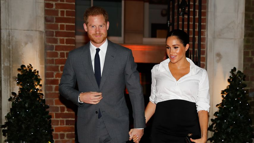 Prinz Harry und Herzogin Meghan in London
