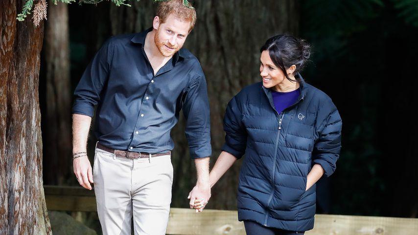 Prinz Harry und Herzogin Meghan in Neuseeland
