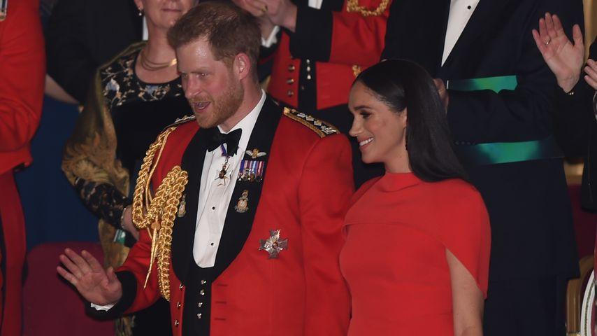 Prinz Harry und Herzogin Meghan im März 2020