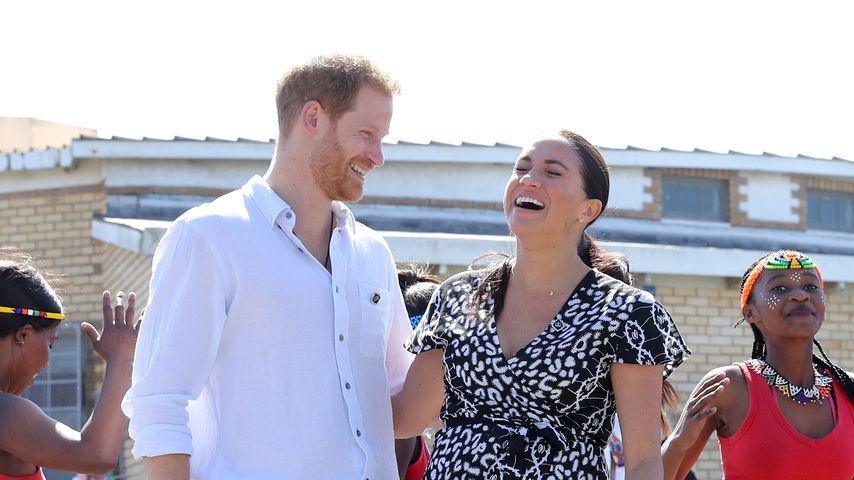 So verliebt turtelten Harry und Meghan durch das Jahr 2019
