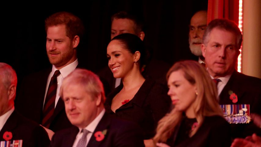Prinz Harry und Herzogin Meghan in London im November 2019