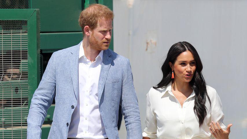 Prinz Harry und Herzogin Meghan in Johannesburg, 2019