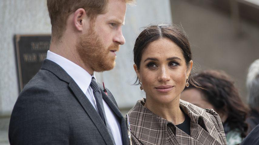 Prinz Harry und Herzogin Meghan in Wellington im Oktober 2018