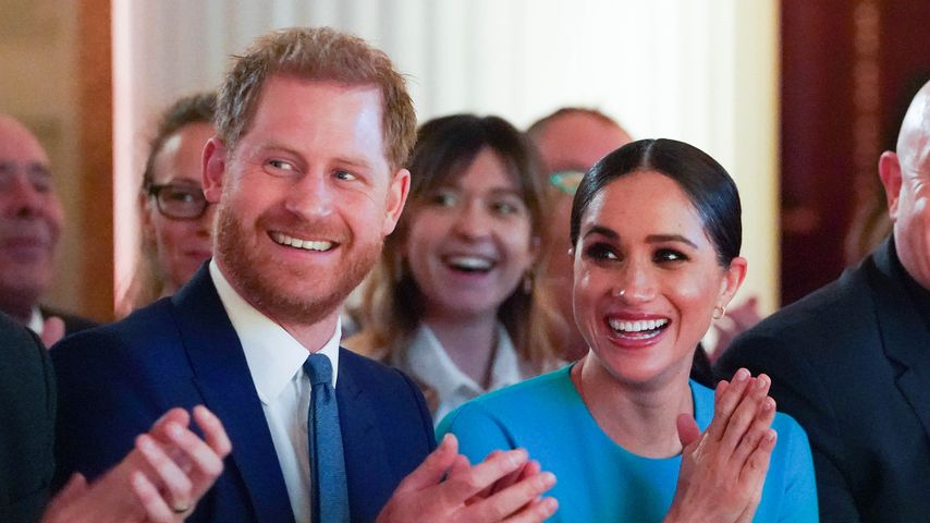 Prinz Harry und Herzogin Meghan bei den Endeavour Fund Awards 2020