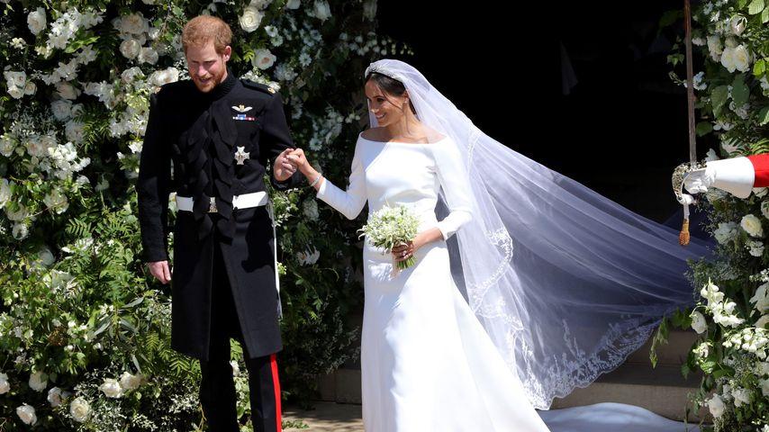 Als Meghan ihr Hochzeitskleid sah, war sie total sprachlos