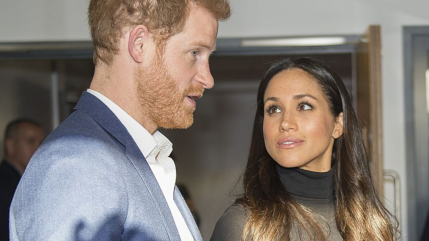 Prinz Harry und Meghan Markle in Nottingham 2017