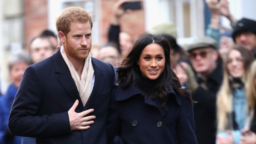 Prinz Harry und Meghan Markle in Nottingham 2017