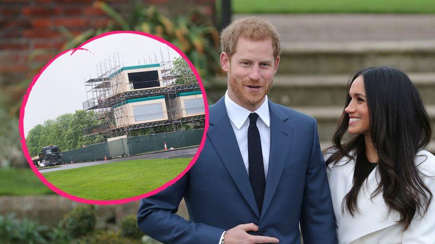 Zwei Wochen vor der Royal-Hochzeit: Windsor rüstet sich!