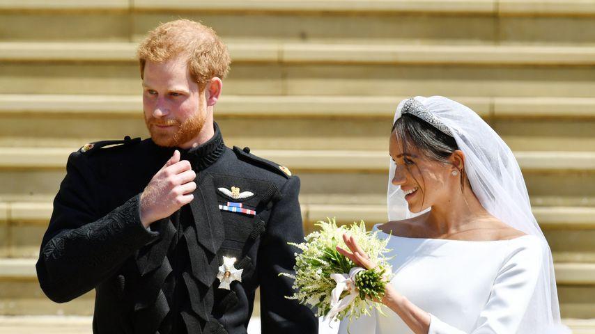 Am Hochzeitstag: Prinz Harry & Meghan bekamen Morddrohungen