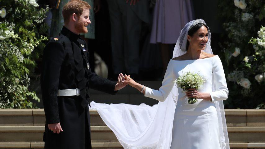 Prinz Harry und Meghan Markle am Tag ihrer Hochzeit
