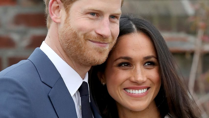 Harry findet's süß: Meghan spricht mit britischem Akzent