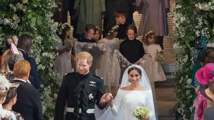 Prinz Harry und Meghan nach der Trauung