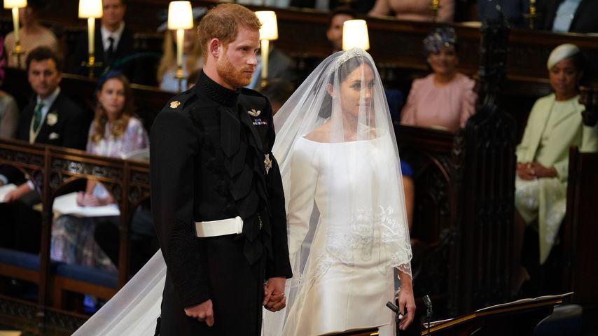 """Sie sind verheiratet! Meghan & Harry haben """"Ja"""" gesagt"""