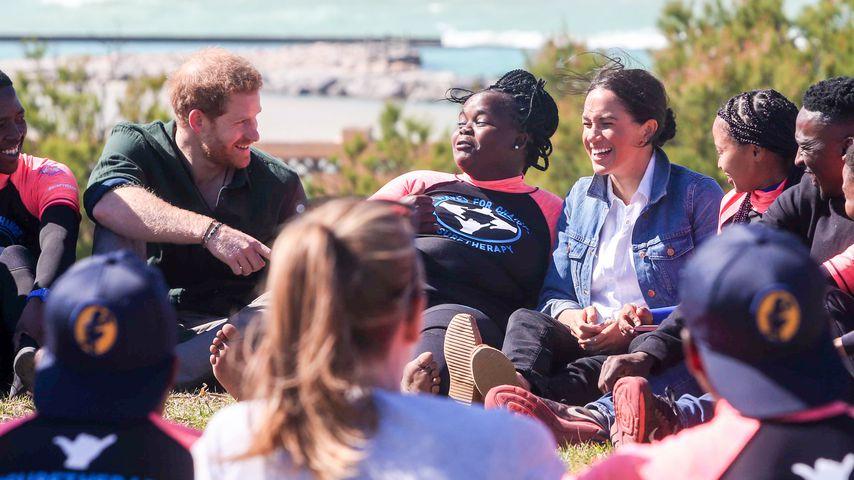 Prinz Harry und Herzogin Meghan bei der Afrika-Tour