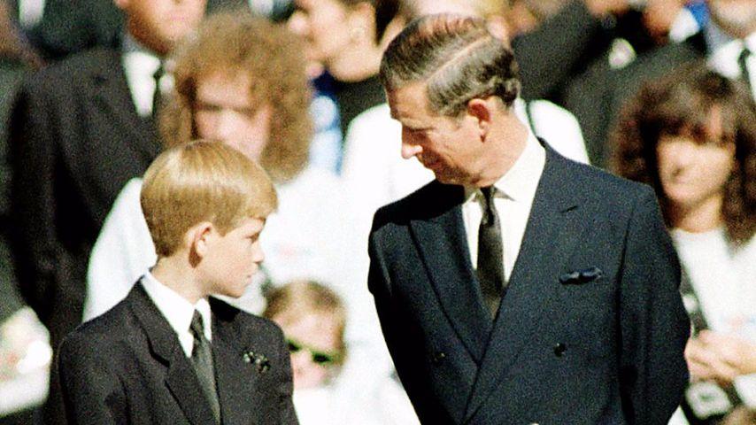 """""""Ist Mami wirklich tot?"""": So reagierte Harry auf Dianas Tod"""
