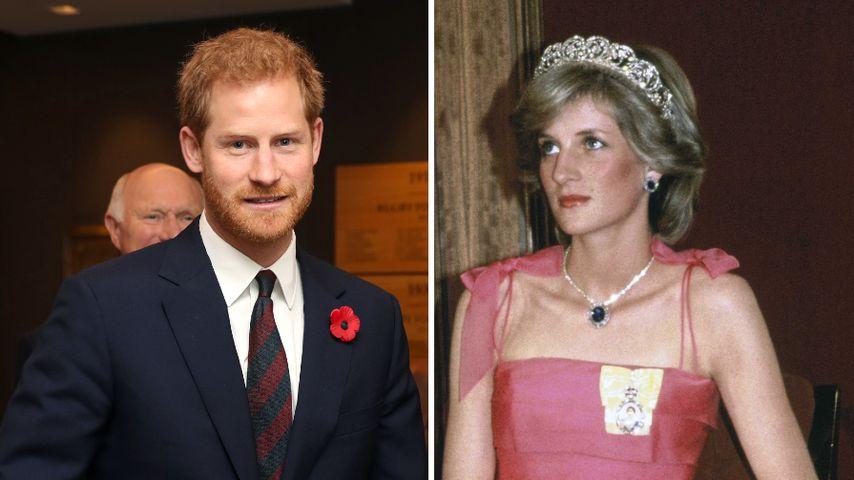 Prinz Harry trat wegen des Schicksals seiner Mutter zurück
