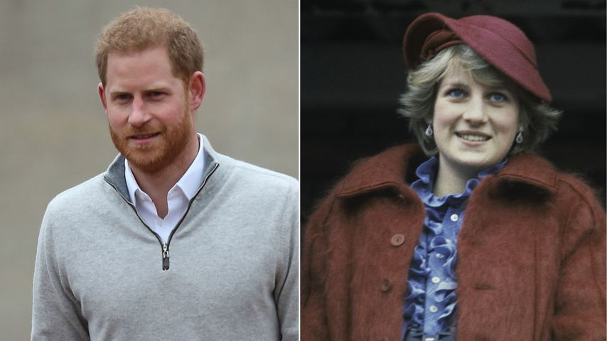 Besonders: Harry bezog Dianas Familie in Geburtsnews mit ein