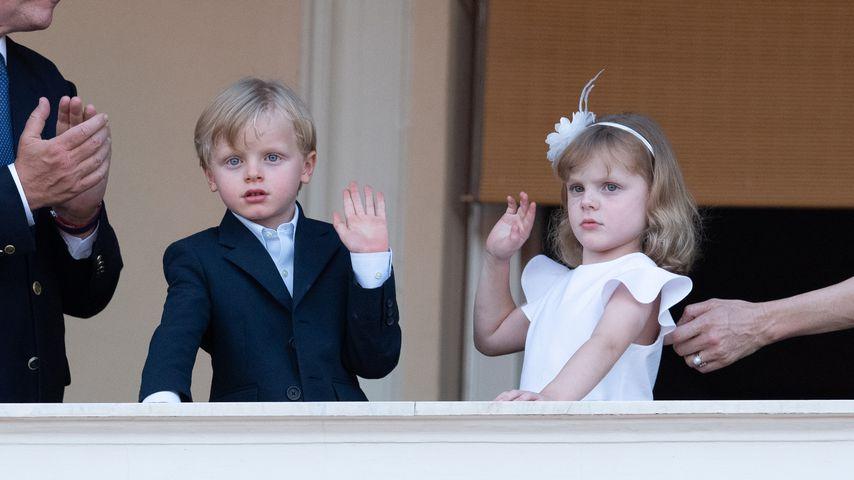 Prinz Jacques und Prinzessin Gabriella im Juni 2020