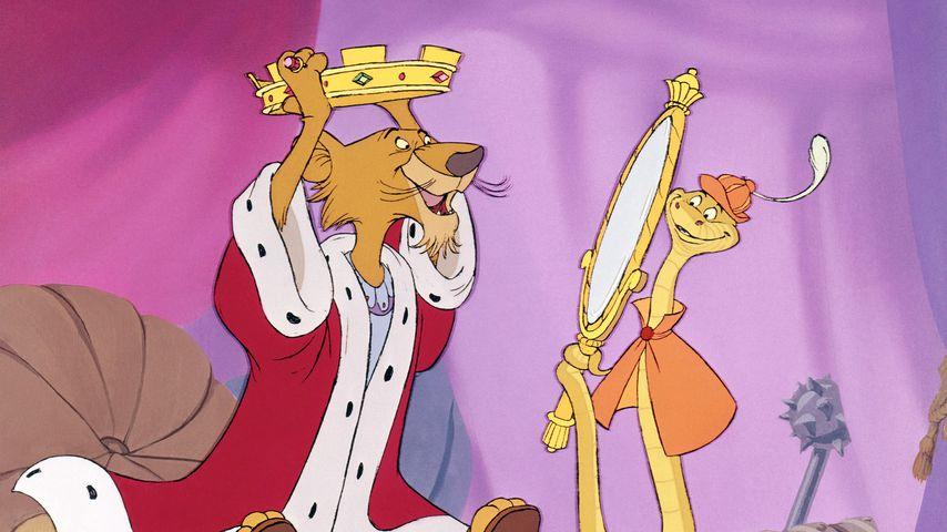 "Prinz John und Sir Hiss im Disney-Film ""Robin Hood"""