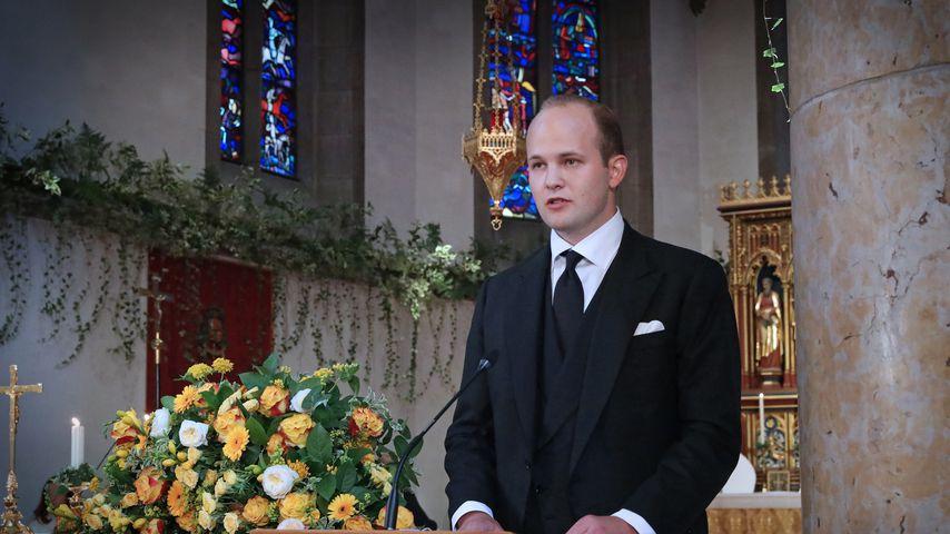 Prinz Joseph Wenzel bei Fürstin Marie von und zu Liechtensteins Trauerfeier
