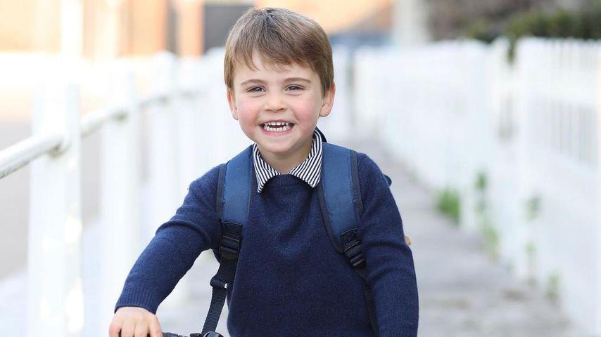 Prinz Louis an seinem dritten Geburtstag