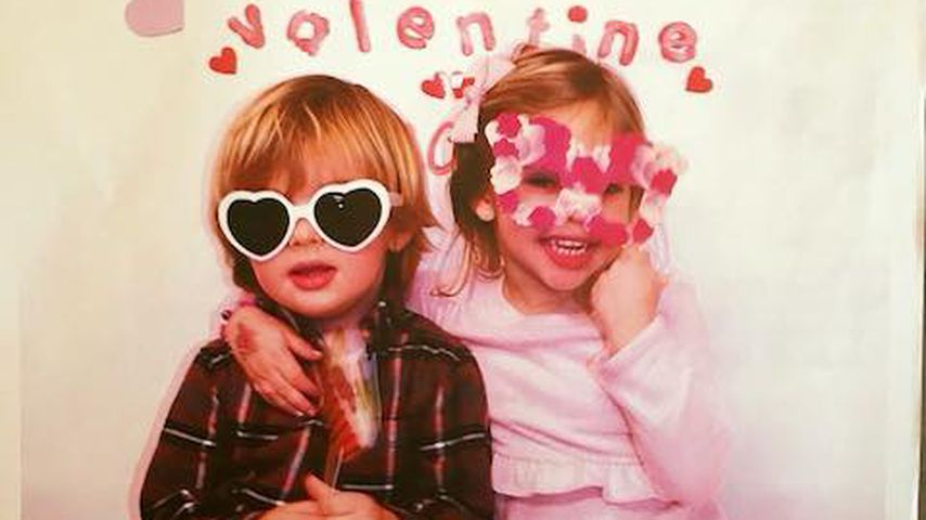 Royale Valentinstagsgrüße: Nicolas & Leonore im Amor-Look!