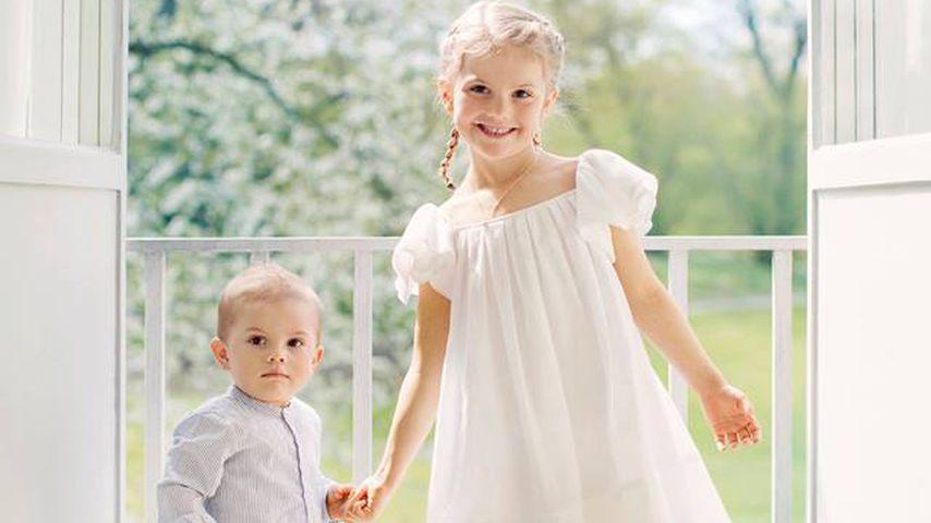Prinz Oscar und Prinzessin Estelle im Juni 2017