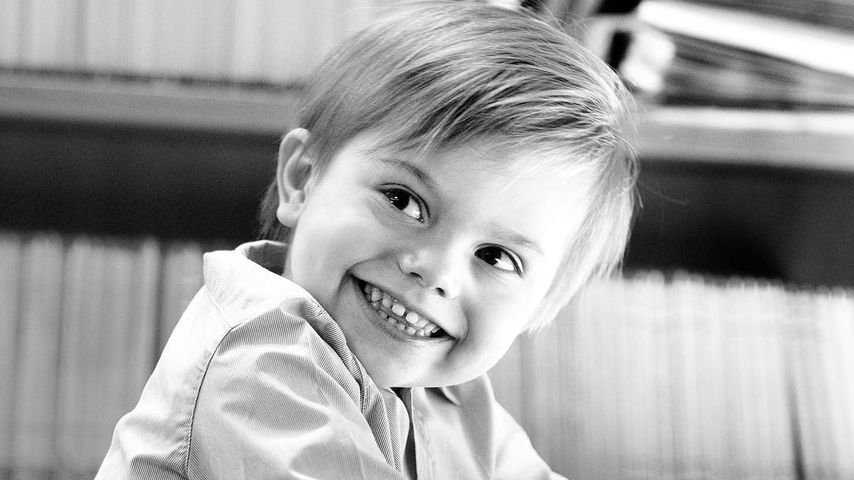 Der kleine Prinz am großen Tag: Oscar von Schweden wird drei