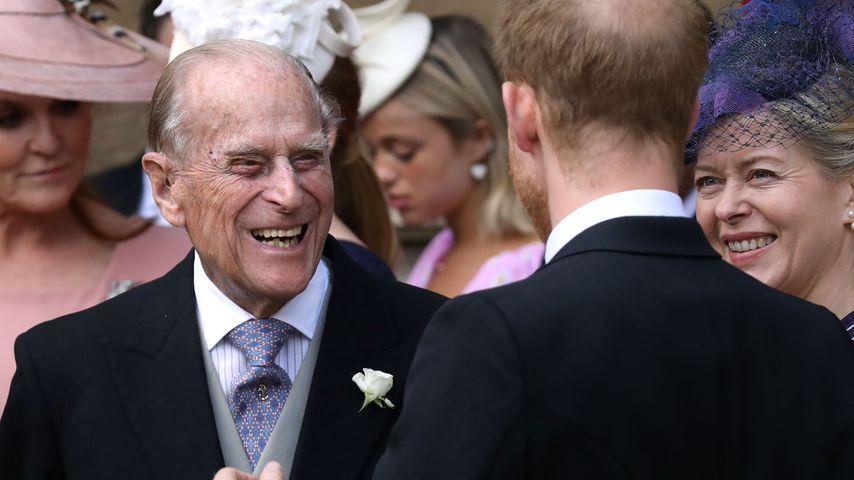 Lady Gabriellas Hochzeit: So gesund strahlte Prinz Philip