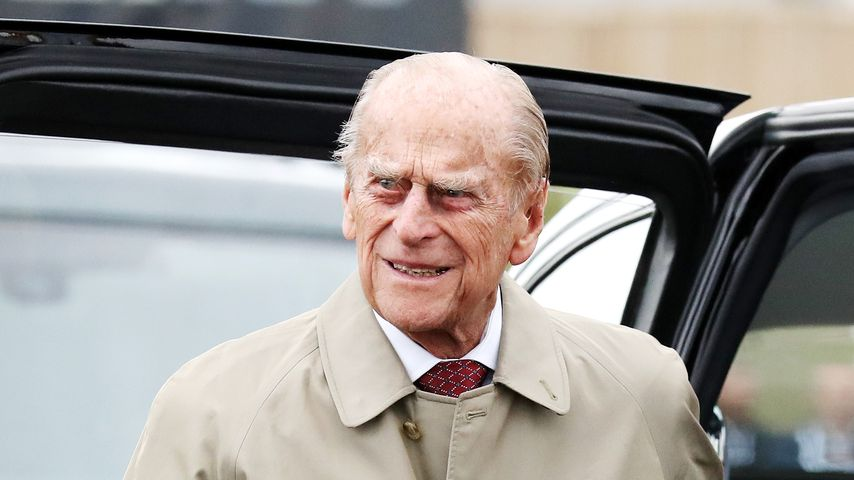 Zehn Tage nach Autounfall: Prinz Philip entschuldigt sich!