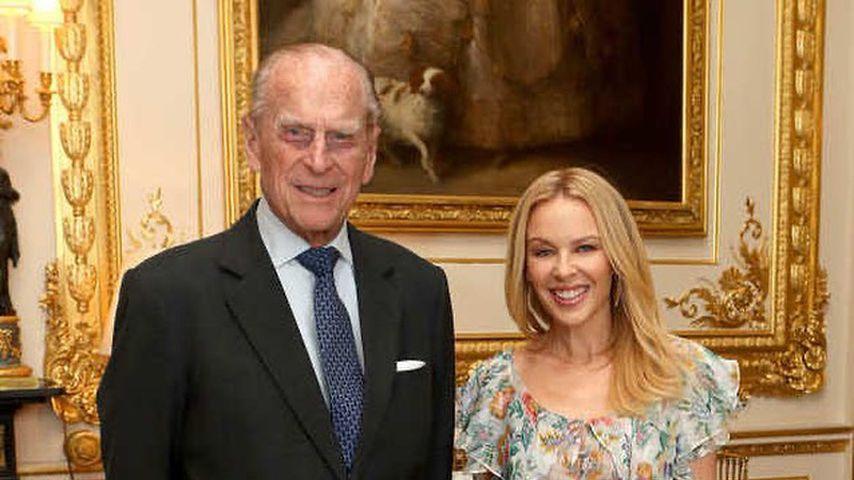 Mit Throwback-Fotos: Kylie Minogue gedenkt Prinz Philips