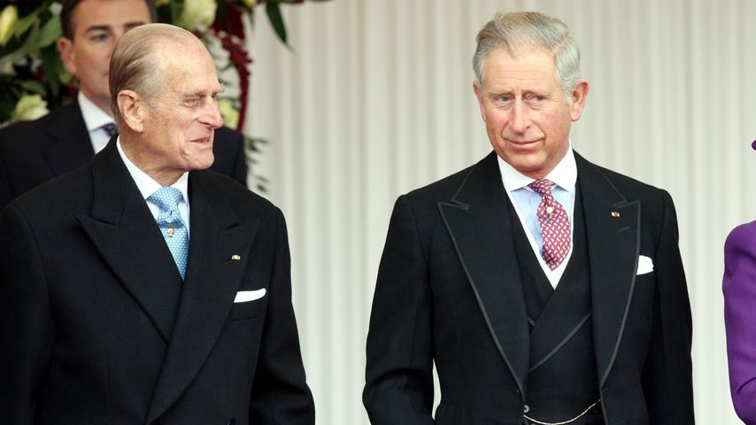Prinz Philip und Prinz Charles 2010
