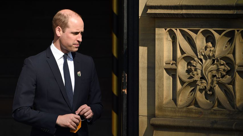 Rührende Geste: Prinz William erinnert Manchester-Opfern