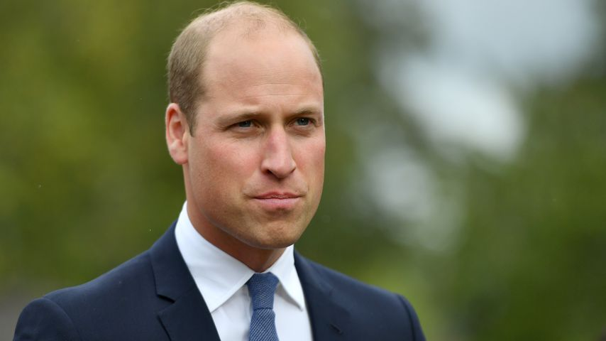 Prinz William bei einem Besuch in Stourbridge