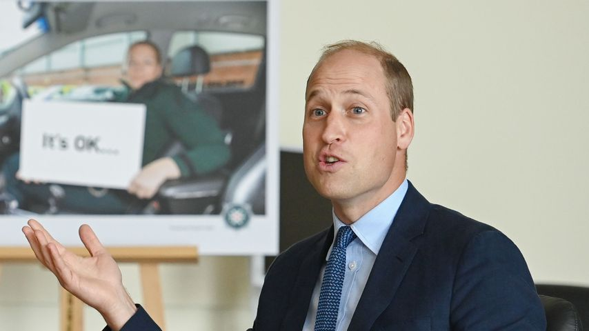 Prinz William im September 2020