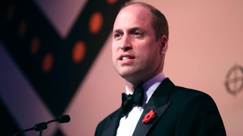 Prinz William im November 2018