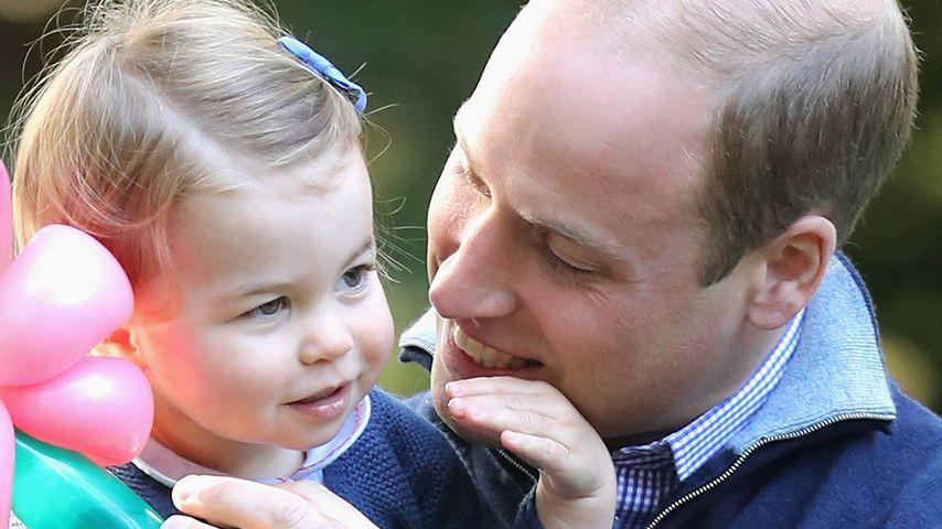 Prinzessin Charlotte und Prinz William in Kanada, 2016