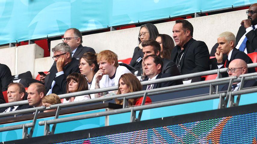 David, Ed und Co: Diese UK-Stars haben ihr Team angefeuert