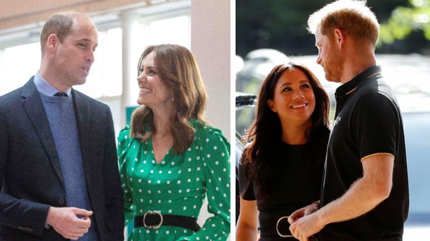William und Kate: Sind sie beliebter als Meghan und Harry?
