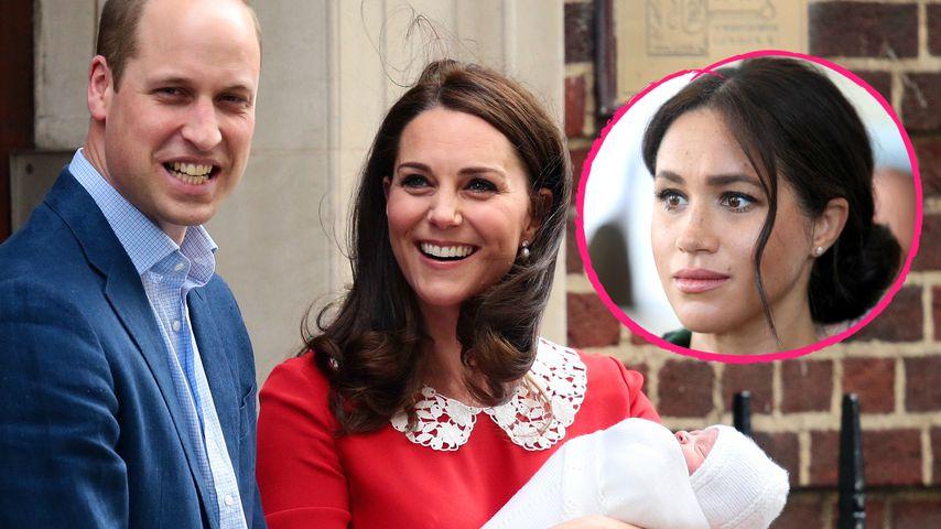 Bemitleidete Meghan Kate wegen Baby-Präsentation vor Klinik?