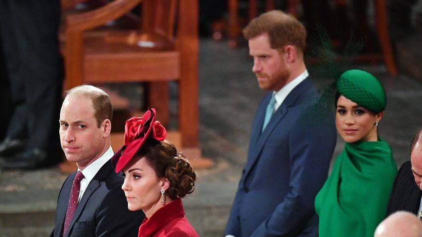 Prinz William, Herzogin Kate, Prinz Harry und Herzogin Meghan