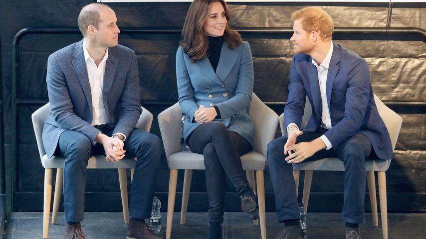 Prinz William, Herzogin Kate und Prinz Harry