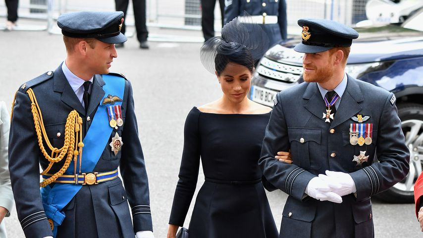 Beef zwischen Harry & William: Hat Meghan Gewissensbisse?