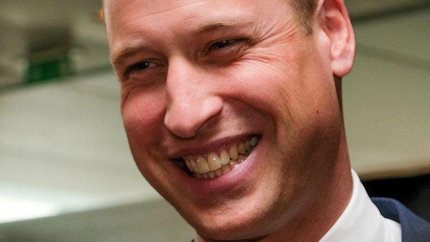 Während eines Termins: Prinz William macht Drogen-Witz