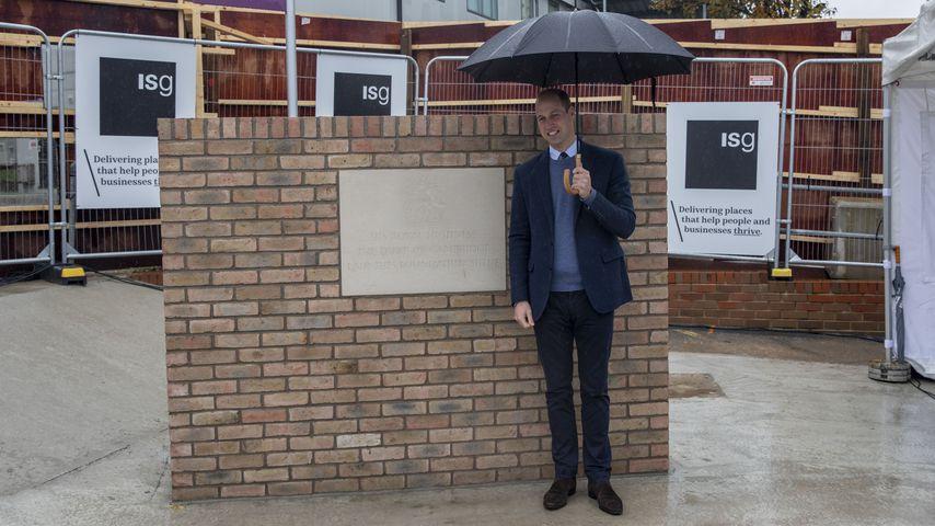 Wie Lady Diana: Prinz William weiht neuen Klinikflügel ein