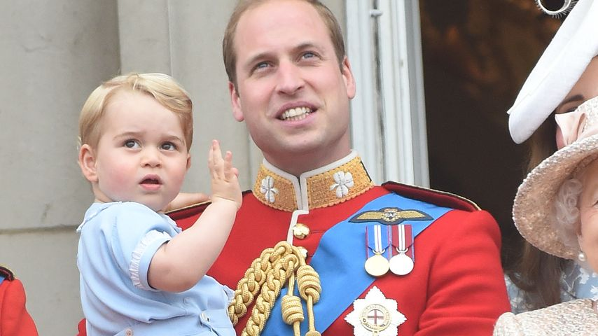 Königliche Weihnachten: Prinz George platzt vor Aufregung