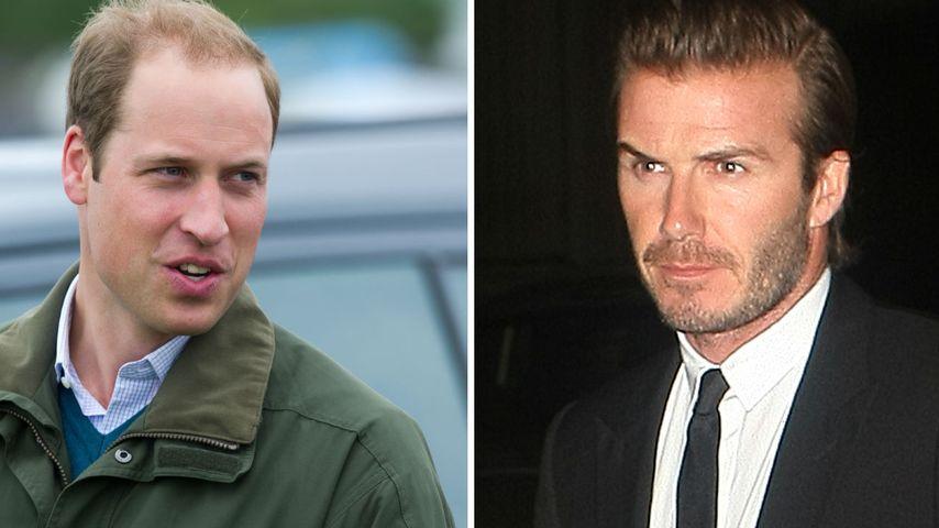 Prinz William & David Beckham kämpfen für Tiere