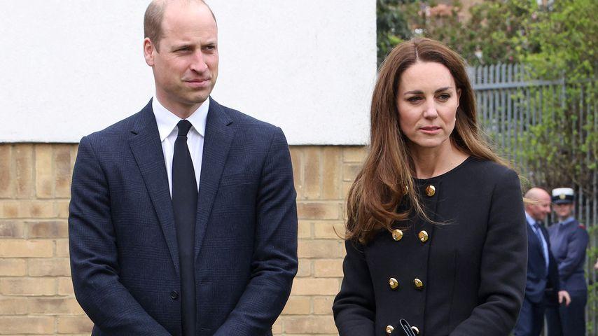 Zu Ehren Philips: Prinz William und Kate arbeiten wieder